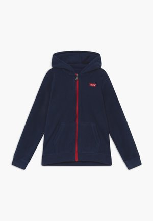LOGO PATCH FULL ZIP - Fleece jacket - dress blues