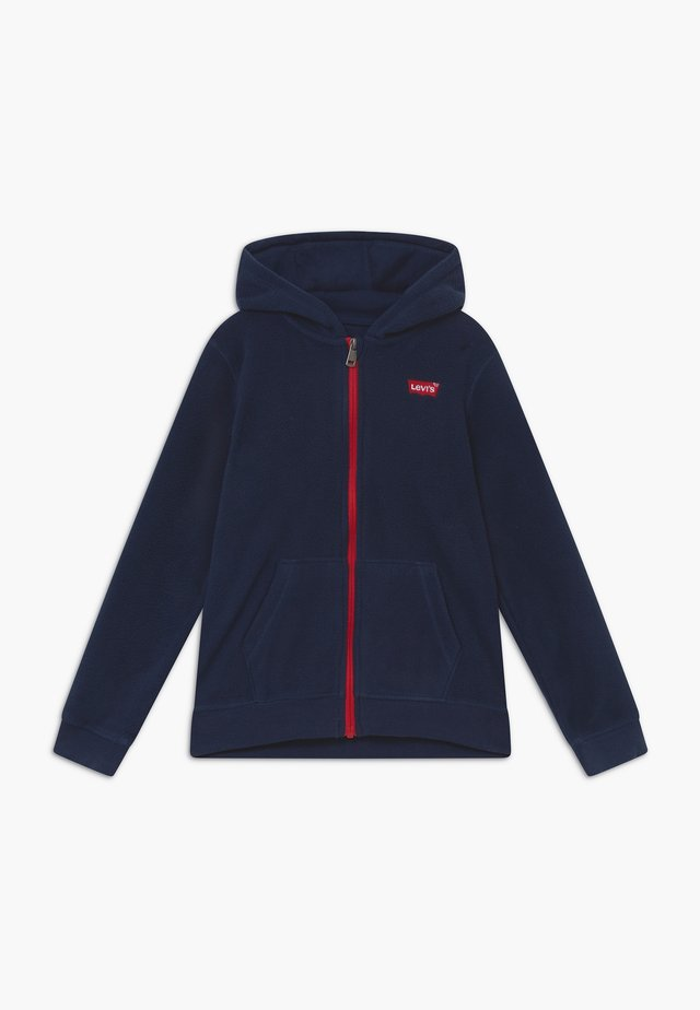 LOGO PATCH FULL ZIP - Fleecejakker - dress blues