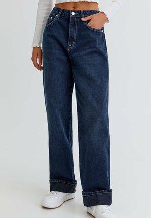 BOYFRIEND - Jeans relaxed fit - dark blue