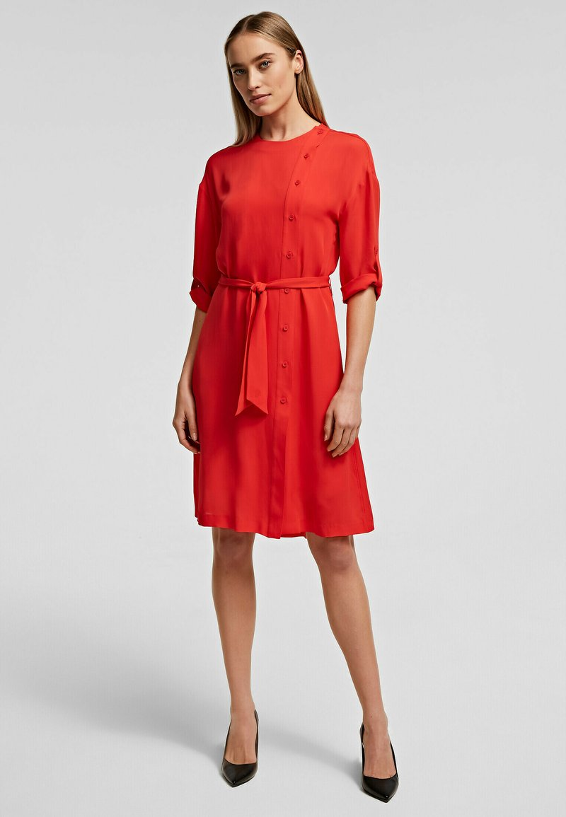 KARL LAGERFELD - Day dress - tangerine
