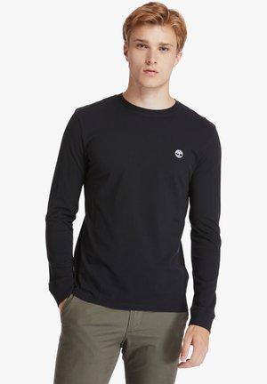 SLIM - Long sleeved top - black