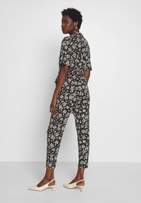 Wallis - TIE NECK - Jumpsuit - black - 2