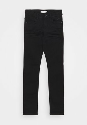 NKMTHEO PANT - Džíny Slim Fit - black denim