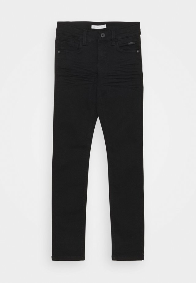 NKMTHEO PANT - Slim fit -farkut - black denim