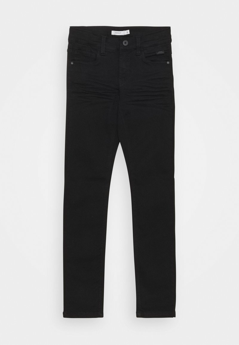 Name it - NKMTHEO PANT - Slim fit jeans - black denim