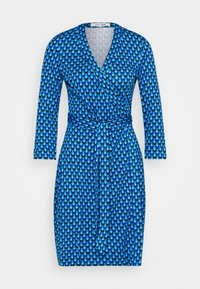 Diane von Furstenberg - BANDED JULIAN MINI - Jersey dress - adriatic