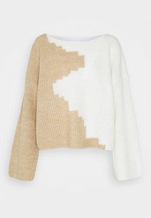 VILOUI  - Sweter - whisper white