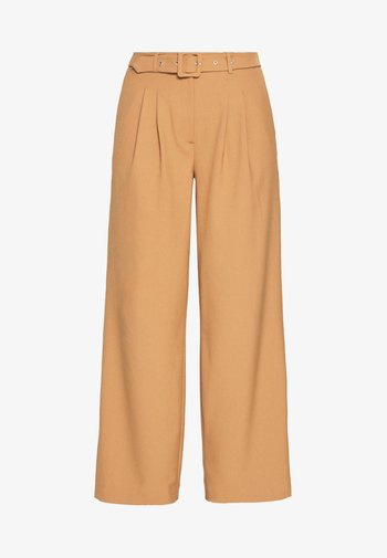 SLFSILL PANT - Kalhoty - tobacco brown