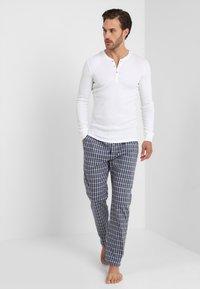 TOM TAILOR - Pyjama bottoms - blue-dark-check - 1