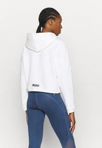 Puma - PAMELA REIF X PUMA COLLECTION FULL ZIP HOODIE - veste en sweat zippée - star white - 2