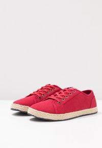 Superdry - LACE UP  - Espadrilles - rouge red - 4