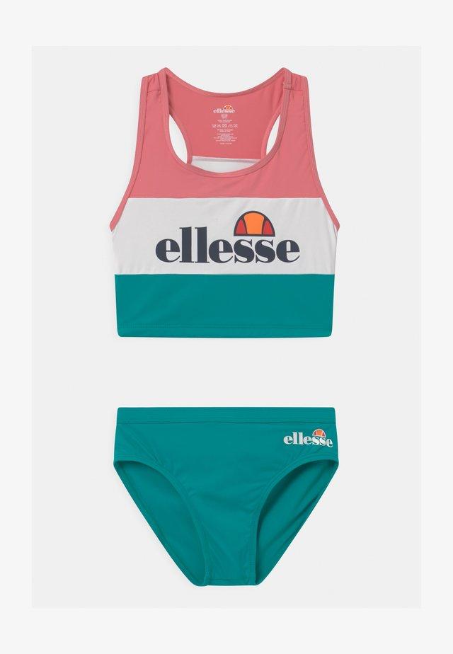 FLOWI SET - Bikini - green