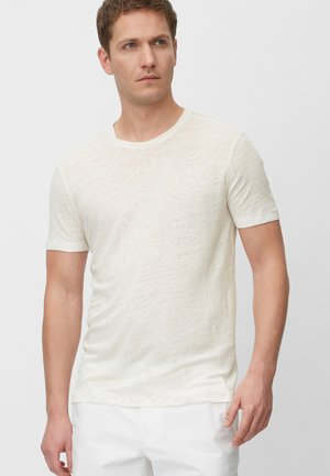 Basic T-shirt - egg white