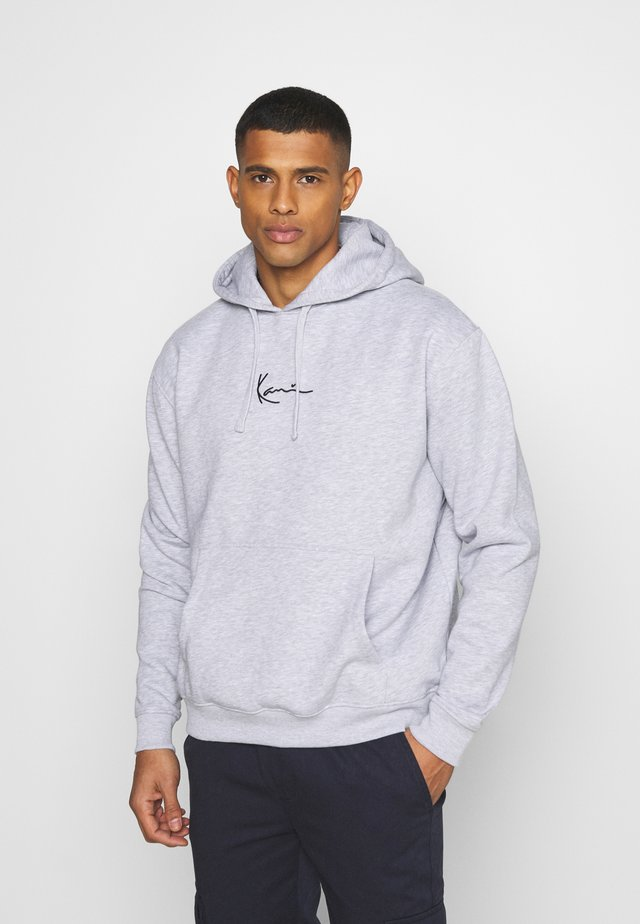 SMALL SIGNATURE HOODY UNISEX - Collegepaita - ash grey