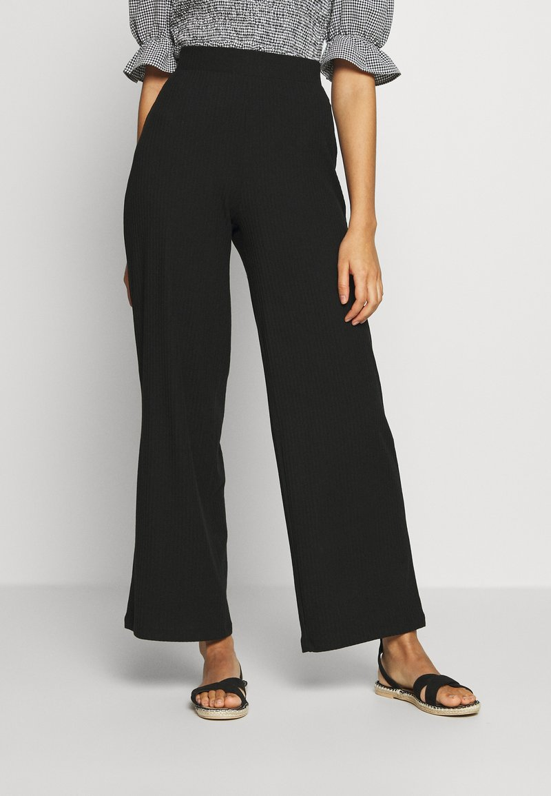 ONLY - ONLNELLA PANT - Trousers - black