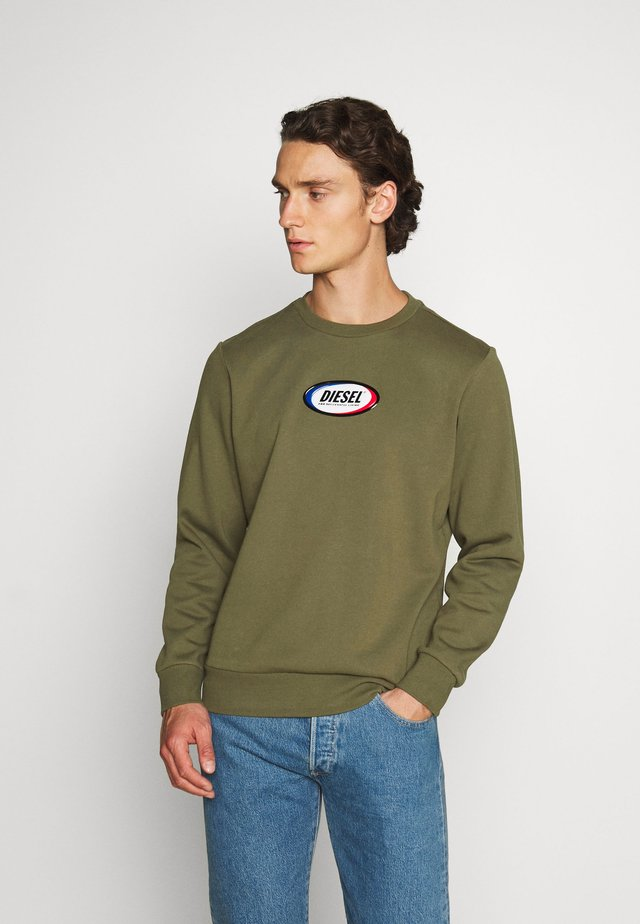 S-GIRK-N85 SWEAT-SHIRT - Collegepaita - olive