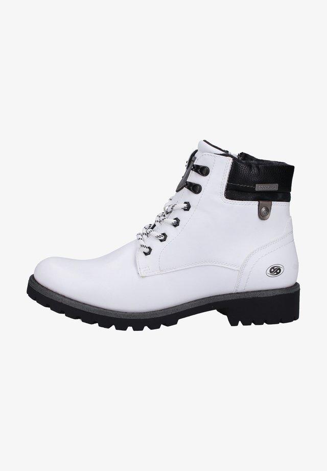 Veterboots - white/black