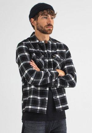 SATURN CHECK - Overhemd - off black