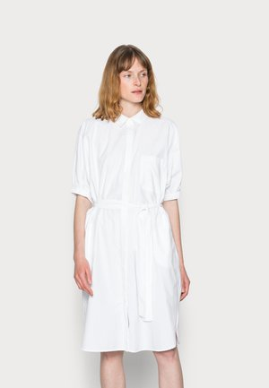 NETTI - Vestido camisero - white