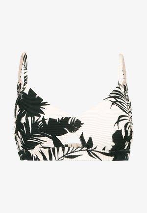 WILD TROPICS HYBRID BRALETTE - Bikini top - blush