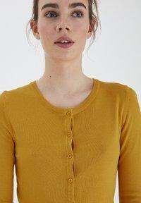 ICHI - MAFA O CA NOOS - Cardigan - mineral yellow - 3