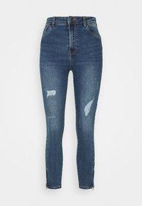 VMSOPHIA SHAPE - Jeans Skinny Fit - medium blue denim
