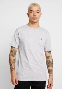 Volcom - STONE BLANKS - Basic T-shirt - mottled light grey - 0