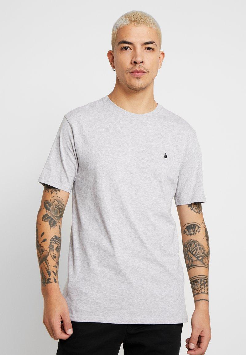 Volcom - STONE BLANKS - Basic T-shirt - mottled light grey