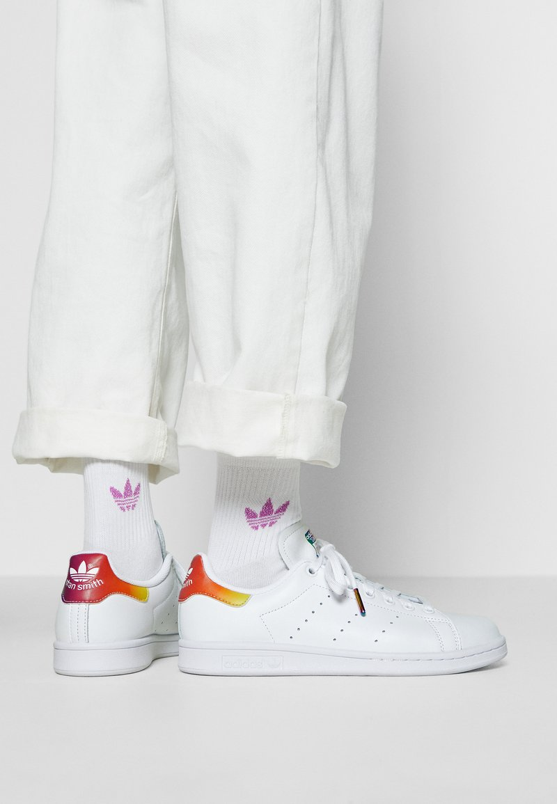 adidas Originals - STAN SMITH - Trainers - footwear white
