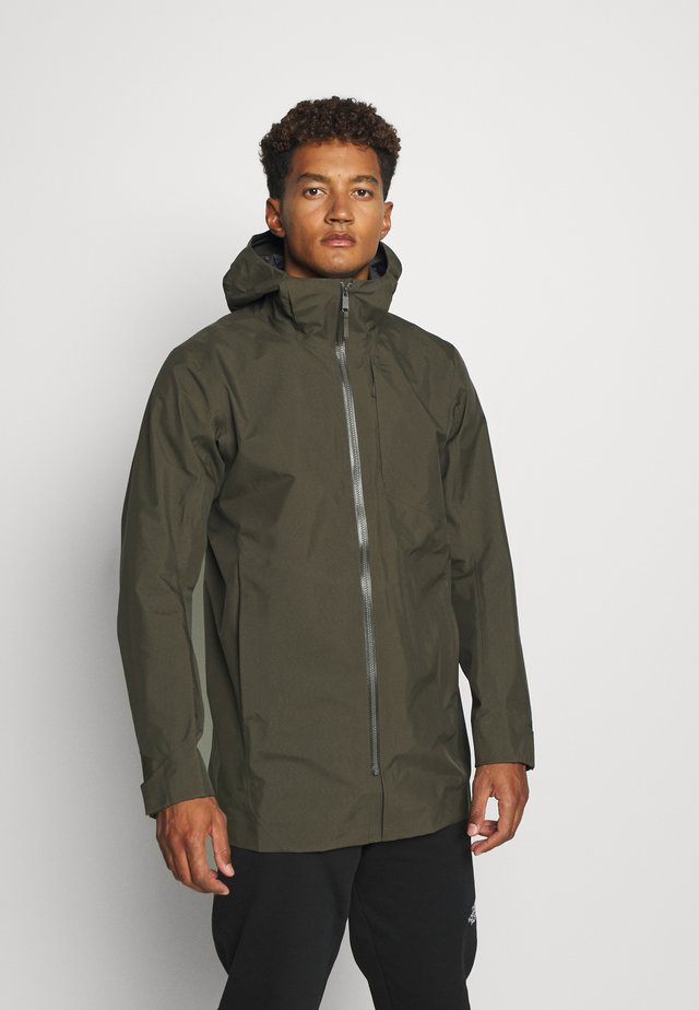 SAWYER COAT MEN - Giacca hard shell - dracaena