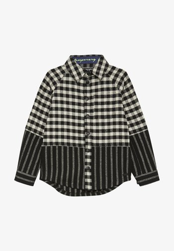 CUT SEW CHECK STRIPE