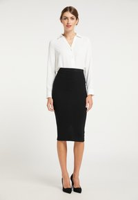 usha - Pencil skirt - schwarz - 1