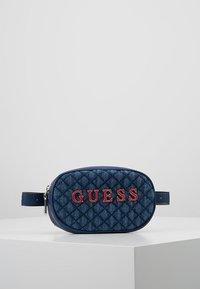 Guess - PASSION XBODY BELT BAG - Bum bag - blue - 0