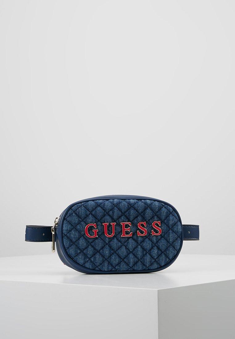 Guess - PASSION XBODY BELT BAG - Bum bag - blue
