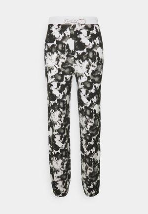 Tracksuit bottoms - black/grey