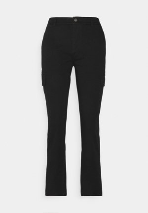 Cargo Chino pants - Bukse - black
