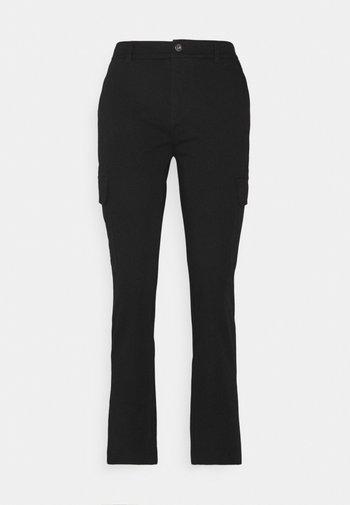 Cargo Chino pants - Kalhoty - black