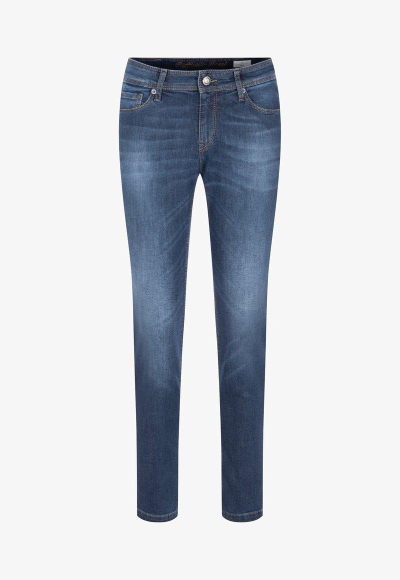 Raffaello Rossi - Slim fit jeans - black/blue