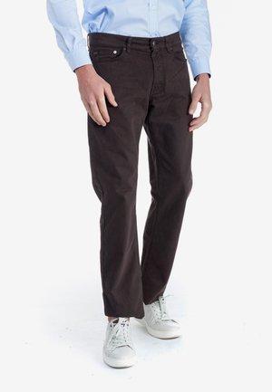 Straight leg jeans - marrone