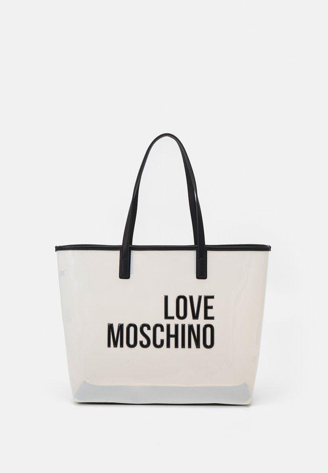 TRANSPARENT LOGO SHOPPER SET - Shopping bag - fantasy