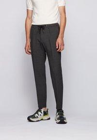 BOSS - BARDON - Trousers - dark grey - 0