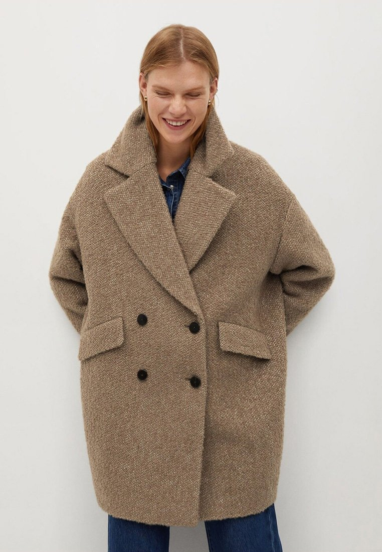 Mango - Winter coat - middenbruin