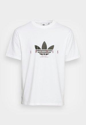 TREFOIL SCRIPT - T-shirt imprimé - white