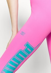 Puma - TRAIN FIRST MILE XTREME 7/8 TIGHT - Punčochy - luminous pink - 5