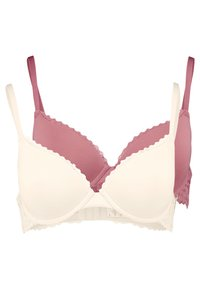 Anna Field - LUCA 2PP TSHIRT BRA  - T-shirt BH - rosé/nude - 0