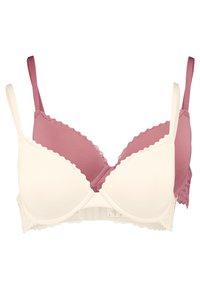 Anna Field - LUCA 2PP TSHIRT BRA  - T-shirt bra - rosé/nude - 0