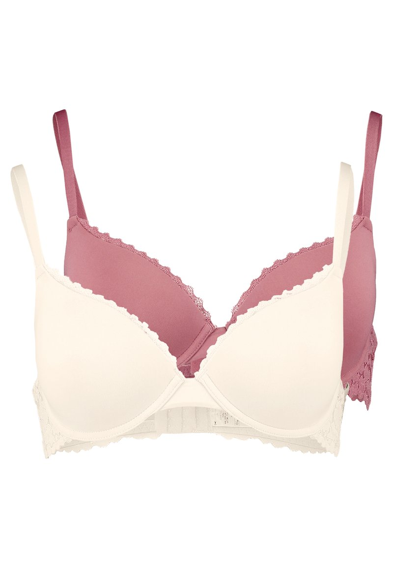Anna Field - LUCA 2PP TSHIRT BRA  - T-shirt bra - rosé/nude
