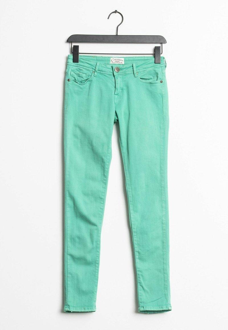 Cimarron - Slim fit jeans - green