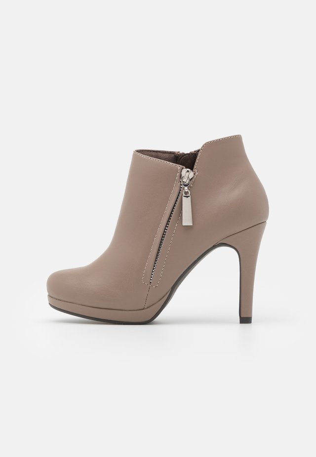 ACER - Bottines à talons hauts - neutral
