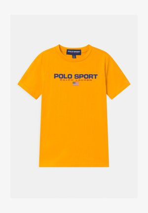 Print T-shirt - gold bugle